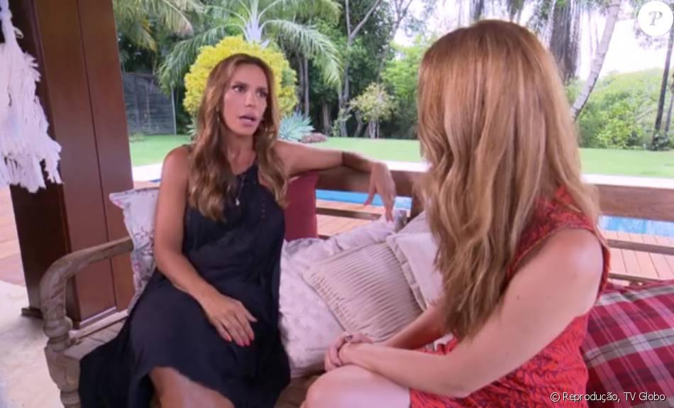 Ivete Sangalo falou sobre a cena de ciúme do marido Daniel Cady que protagonizou em show ao 'Fantástico' de domingo, 10 de janeiro de 2016