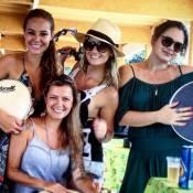 Paolla Oliveira e Julia Lemmertz vão à festa de despedida de 'Além do Tempo'