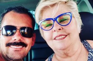 Ex-BBB vovó Naná namora homem 28 anos mais novo: 'Concordamos em não casar'