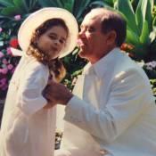 Lívian Aragão mostra foto antiga no aniversário do pai, Renato Aragão: 'Exemplo'
