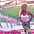 A participante do 'Big Brother Brasil' Adélia curtiu viagem para Argentina em 2015