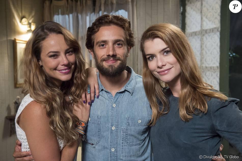 Melissa (Paolla Oliveira) se redime e Lívia (Alinne Moraes) e Felipe (Rafael Cardoso) são salvos da morte, no fim da novela 'Além do Tempo', em 15 de janeiro de 2016
