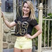 Laryssa Ayres comenta beijo em Lucas Lucco na novela 'Malhação': 'Me entreguei'