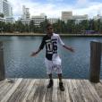 Bermudas no estilo saruel fazem parte do guarda-roupa do jogador