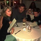 Fã interrompe jantar de Taylor Swift e Calvin Harris para foto: 'Mamãe e papai'