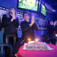 Thammy Miranda comemora aniversário com amigos