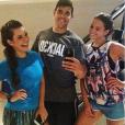 Fernanda Souza e Bruna Marquezine malham juntas