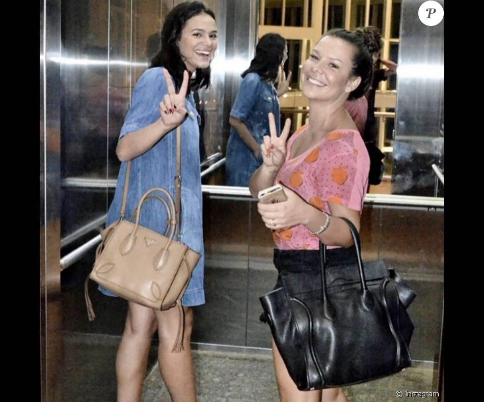 Amigas inseparáveis! Bruna Marquezine e Fernanda Souza não desgrudam mais e mostram sintonia nas redes sociais