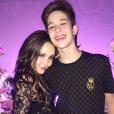 Larissa Manoela e João Guilherme Ávila só assumiram o namoro em dezembro de 2015