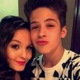 Larissa Manoela e João Guilherme Ávila comemoram 4 meses de namoro e trocam carinho pelo Snapchat