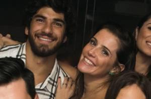 Deborah Secco e o marido, Hugo Moura, curtem noite de balada no Rio. Veja fotos!