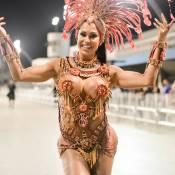Gracyanne Barbosa, rainha da X-9 Paulistana, recebe elogio: 'Samba no pé'. Vídeo
