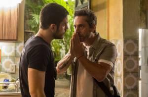 'A Regra do Jogo': Dante prende o pai, Romero. 'Você não engana mais ninguém!'