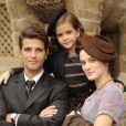 Em 'Joia Rara', Pérola (Mel Maia) será filha do jovem rico Franz (Bruno Gagliasso) e da pobre operária (Bianca Bin), na trama que se passa entre os anos 1930 e 1940