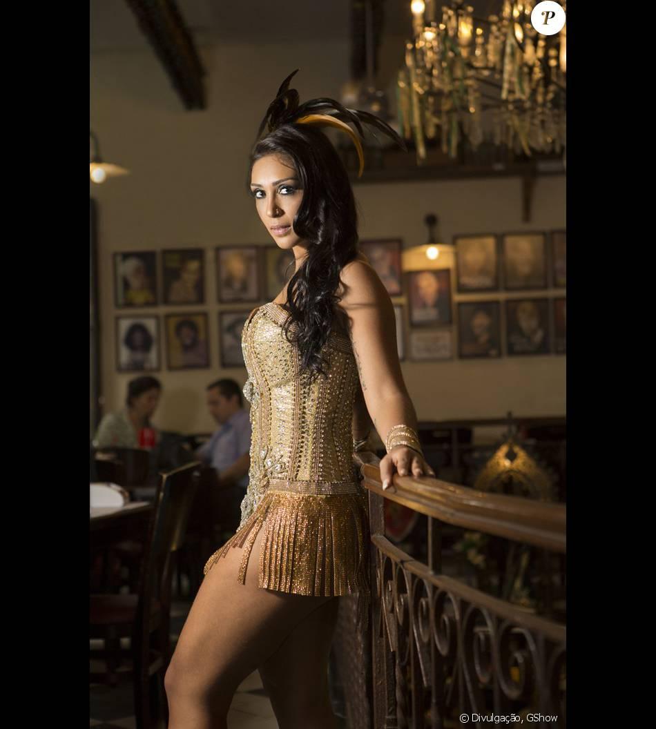 86648f2b8 Amanda Djehdian vai ser musa da Gaviões da Fiel e destque da Imperatriz  Leopoldinense no Carnaval