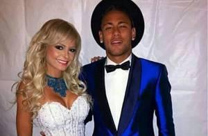 Neymar é apontado como affair da ring girl Jhenny Andrade, diz jornal