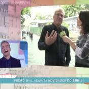 Pedro Bial, do 'BBB16', ironiza convivência com Boninho: 'Espécie de vacina'