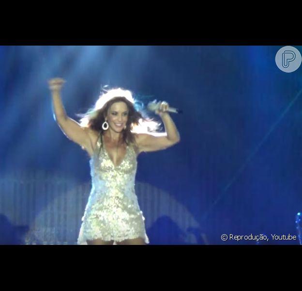 Ivete Sangalo incluiu 'Bang', sucesso de Anitta, em seu repertório do show feito em Recife, na última sexta-feira, 15 de janeiro de 2016