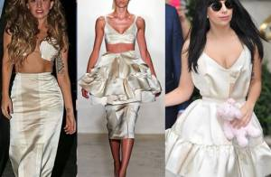 Lady Gaga transforma peça do estilista brasileiro Alexandre Herchcovitch em duas