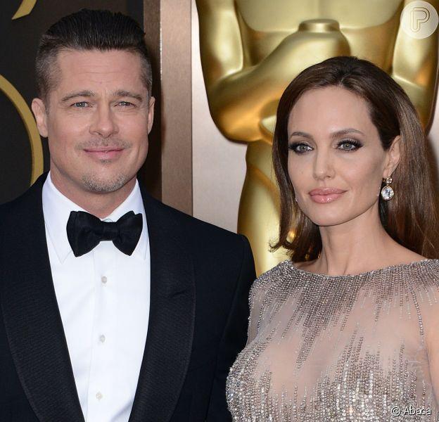De acordo com revista americana, Angelina Jolie e Brad Pitt estão morando em casas separadas