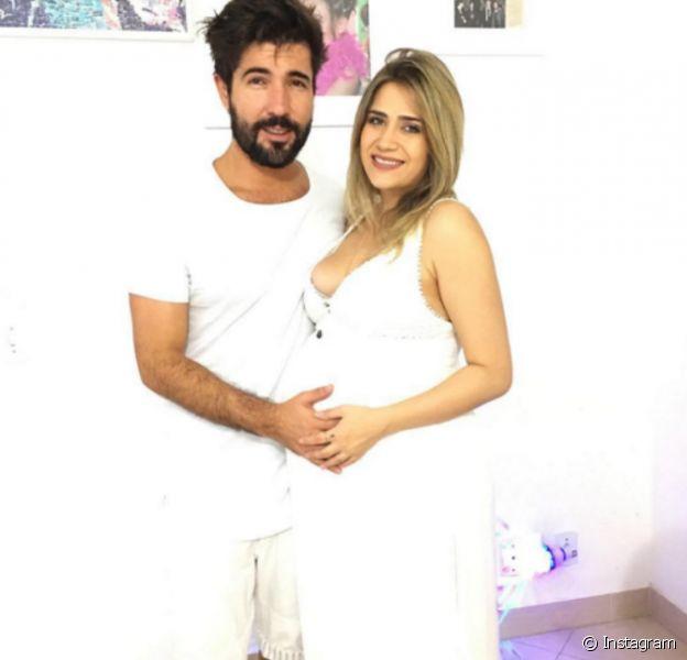 Jéssica Costa e Sandro Pedroso receberam Noah na manhã de terça-feira, 02 de fevereiro de 2016