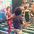 Bruna Marquezine dança para Gabriel Leone em gravação do 'Amor & Sexo'