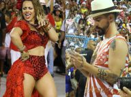 Viviane Araújo é fotografada pelo noivo, Radamés, em esquenta para o Carnaval