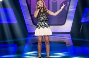 Ex-Chiquitita, a 'The Voice Kids' Julia Gomes já cantou com Anitta em festa