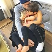 Gisele Bündchen clica os filhos, Vivian e Benjamin, com Tom Brady: 'Muito amor!