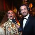 Ex-namorado de Sabrina Sato, João Vicente de Castro entrevista a apresentadora no Baile da Vogue, na noite desta quinta-feira, 28 de janeiro de 2015. 'Você está com a melhor fantasia que eu vi até agora'