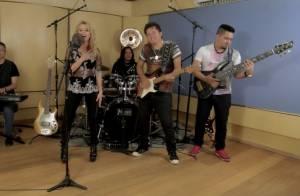 Joelma lança clipe 'Não Teve Amor' e fãs comparam guitarrista a Ximbinha. Vídeo!