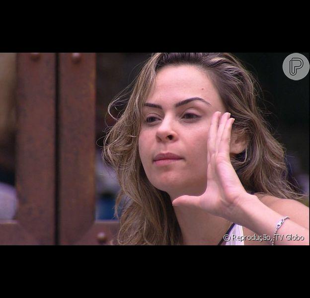 Ana Paula chama Laércio de 'pedófilo nojento' no 'BBB16', em 30 de janeiro de 2016