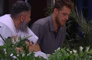 'BBB16': Daniel apoia Laércio após briga com Ana Paula. 'Pode contar comigo'