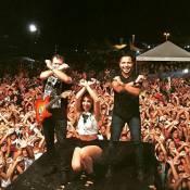 Ximbinha faz 1° show com nova formação da XCalypso após saída de Thábata Mendes