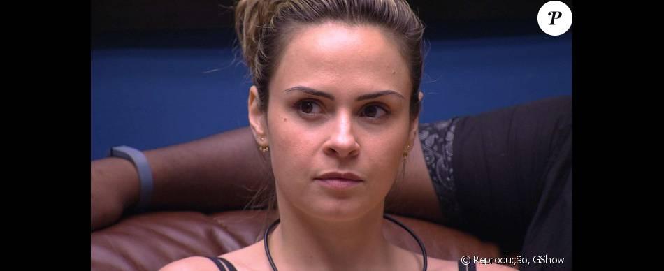 Ana Paula prometeu vingança após ser indicada ao segundo Paredão do 'BBB16': 'Vou voltar e botar o terror'