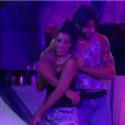 Os dois dançaram juntos e ficaram próximos durante toda a festa no 'BBB16'