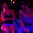 'Dá choque', disse Renan ao desistir de dançar com Juliana, que riu da situação