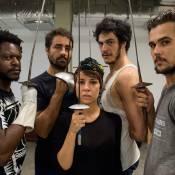 'Liberdade': Mateus Solano, Andreia Horta e Bruno Ferrari fazem aula de esgrima