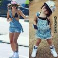 Bruna Marquezine é uma das mais pedidas pelos seguidores de Aline Albuquerque, mãe de Alice e administradora do Instagram em que as fotos são postadas