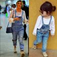 Giovanna Ewbank é uma das famosas que teve a roupa imitada por Alice Albuquerque