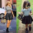 Alice usou look supermoderno inspirado na socialite Paris Hilton