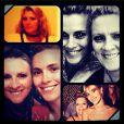 A atriz em homenagem nas redes sociais ao aniversário de sua mãe, Maíra Dieckmann