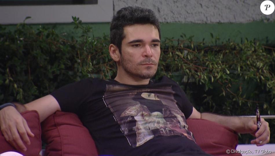 Alan desistiu do 'Big Brother Brasil 16' nesta sexta-feira, 5 de fevereiro de 2016