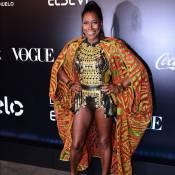 Gloria Maria comenta look com pernas de fora em baile: 'Tinha que ser agora!'