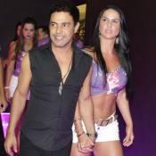Carnaval: Zezé Di Camargo e Graciele Lacerda chegam de mãos dadas em camarote