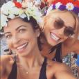 Grazi Massafera já havia curtido blocos pré-Carnaval com a amiga Anna Lima