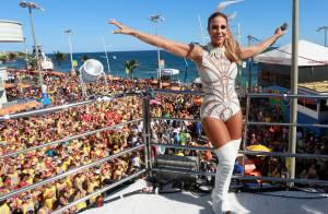 Ivete Sangalo usa body em trio no Carnaval de Salvador: 'Ia vir de biquíni'