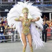 Carnaval 2016: Ana Hickmann comenta fantasia pesada.'Só sente antes de desfilar'