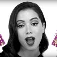 Anitta em campanha da Prefeitura do Rio que incentiva o uso de preservativos