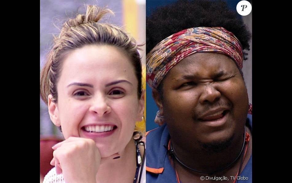 Ana Paula e Ronan disputam o 'paredão do bem' que foi formado neste domingo, 7 de fevereiro de 2019